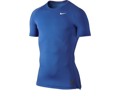 "NIKE Herren Funktionsshirt / T-Shirt ""Compression"" Blau"