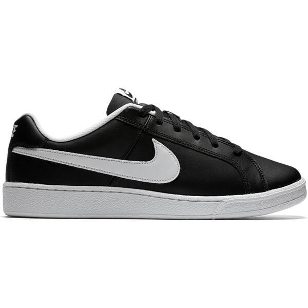 NIKE Herren Freizeitschuhe Herren Sneaker Court Royale Schwarz