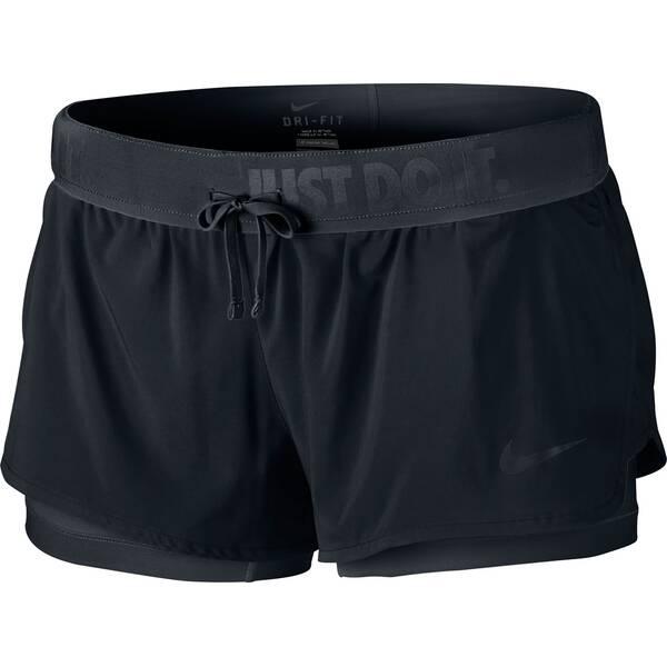 nike damen shorts flex 2in1