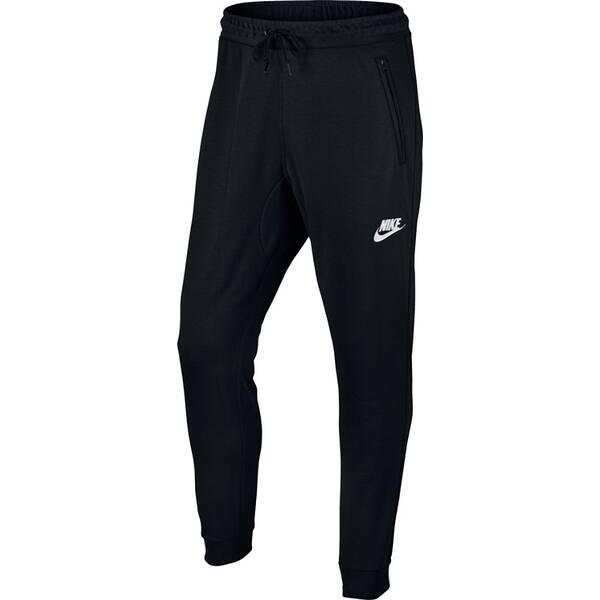 NIKE Herren Jogginghose AV15 JGGR FLC | Sportbekleidung > Sporthosen > Jogginghosen | Schwarz | Baumwolle - Polyester | NIKE