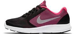 Schwarz/Pink/Weiß
