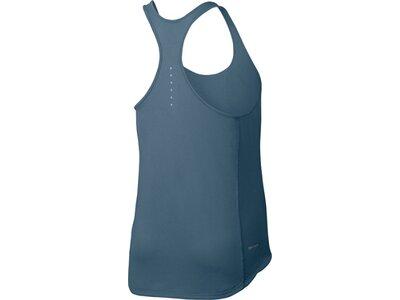 NIKE Damen Laufshirt / Tank Top Relay Dry Running Tank Blau