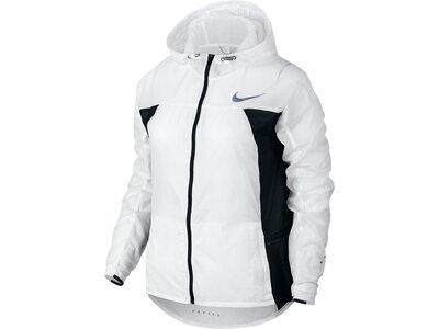 NIKE Damen Laufjacke Nike Impossibly Light Running Jacket-Hooded Grau