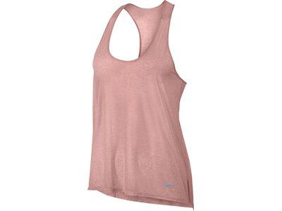 NIKE Damen Tank Top / Laufshirt Breathe Running Tank Pink