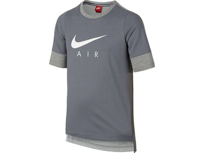 NIKE Boys Trainingsshirt Kurzarm Grau