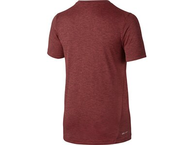 NIKE Kinder Shirt DRY TOP SS HYPER GFX Rot