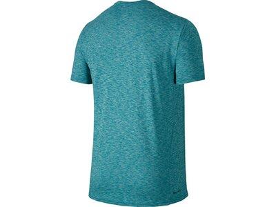 "NIKE Herren Trainingsshirt ""Breathe Training Top"" Blau"