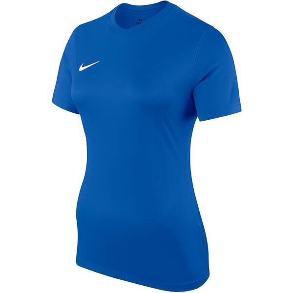 NIKE Damen Fußballtrikot DRY PARK VI JSY SS | Sportbekleidung > Trikots > Fußballtrikots | Blue - White | Nike