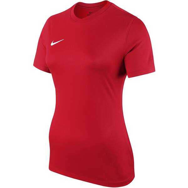 NIKE Damen Fußballtrikot DRY PARK VI JSY SS | Sportbekleidung > Trikots > Fußballtrikots | Red - White | Nike