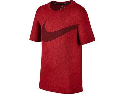 """NIKE Jungen T-Shirt """"Breathe Hxper GFX"""" Rot"""