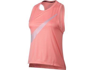 NIKE Damen Tank Top / Laufshirt Dry City Core Tank Pink