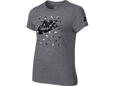 NIKE Kinder T-Shirt SS COURT ART Grau