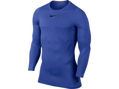 NIKE Herren Funktionsunterhemd Pro Warm Blau