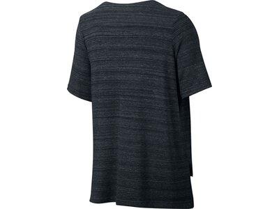 NIKE Damen Trainingsshirt / T-Shirt Sportswear Advance 15 Top Schwarz