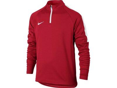 "NIKE Kinder Fußball Sweatshirt ""Dry Academy Drill Top"" Langarm Rot"