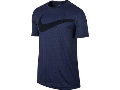 NIKE Herren Trainingsshirt / T-Shirt Breathe Blau