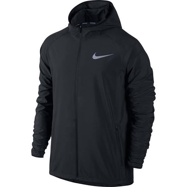 NIKE Herren Laufjacke Essential Hooded | Sportbekleidung > Sportjacken > Laufjacken | Black | NIKE
