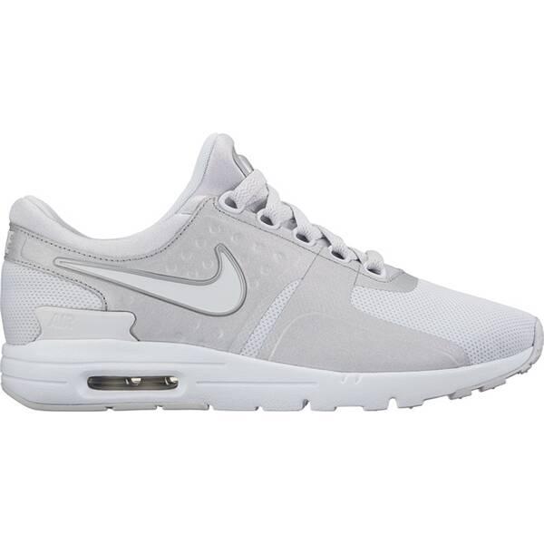 NIKE Damen Sneaker Air Max Zero Silber