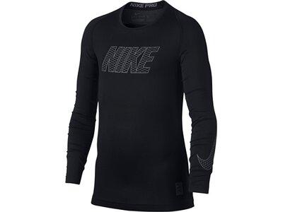 NIKE Underwear - Langarm Pro Compression Longsleeve Shirt Kids Schwarz