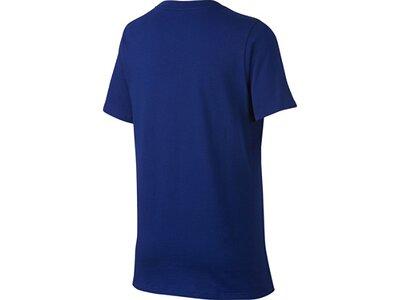 NIKE Kinder T-Shirt FCB CREST Blau