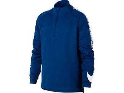 "NIKE Kinder Fußballshirt ""Dry Squad Drill"" Langarm Blau"