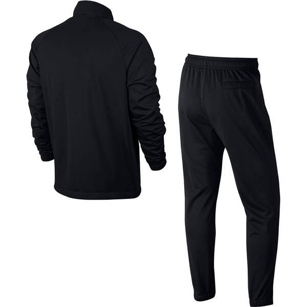NIKE Herren Trainingsanzug PK BASIC | Sportbekleidung > Sportanzüge | Black - White | Nike