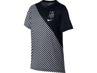 NIKE Kinder T-Shirt NEYMAR DRY LEG LINES Silber