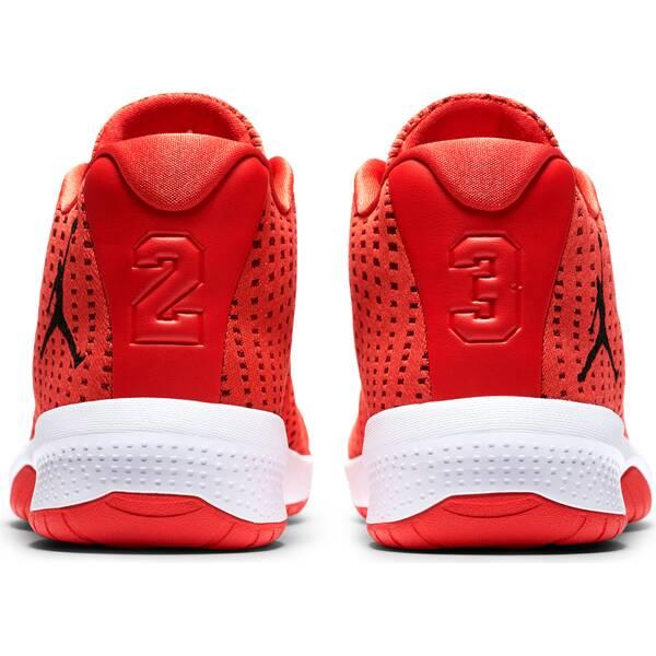NIKE Herren Basketballschuhe Jordan B.Fly   Schuhe > Sportschuhe > Basketballschuhe   Orange - Black - Red - White   Gummi   NIKE