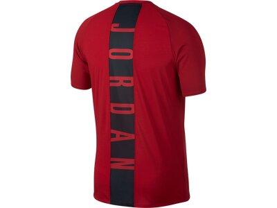 NIKE Herren Shirt 23 ALPHA DRY SS Rot