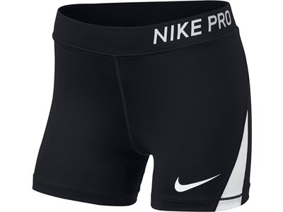 NIKE Mädchen Trainingsshorts Pro Shorts Schwarz