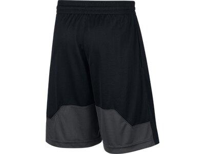 NIKE Kinder Basketball Shorts B NK DRY SHORT HBR Schwarz