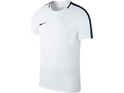 NIKE Herren Shirt DRY ACDMY18 TOP SS Weiß