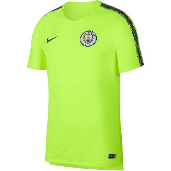"NIKE Herren Fußballshirt ""Breathe Manchester City FC Squad"" Kurzarm"