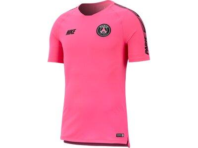 "NIKE Herren Fußballshirt ""Paris Saint-Germain Breathe Squad"" Pink"