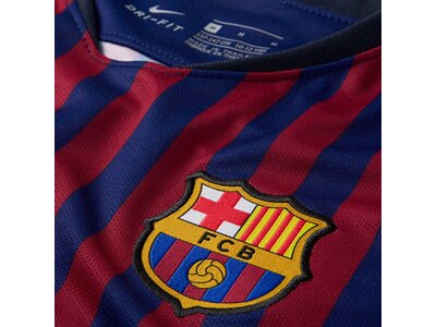 "NIKE Herren Fußballtrikot ""Breathe FC Barcelona Stadium Home"" Kurzarm Blau"