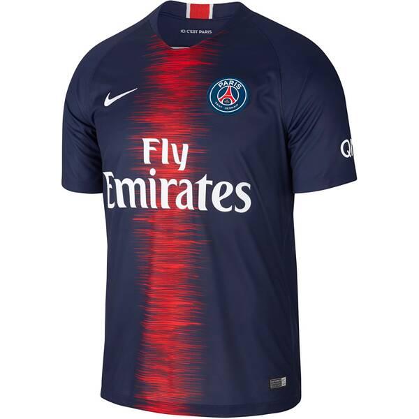 NIKE Herren Fußballtrikot Breathe Paris Saint-Germain Home Stadium Kurzarm