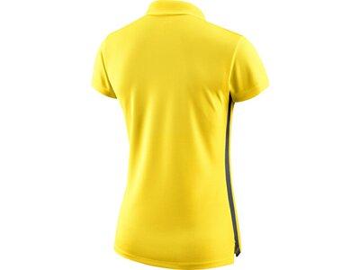 NIKE Damen Poloshirt DRY ACDMY18 SS Gelb