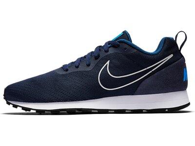 NIKE Herren Freizeitschuhe Nike Md Runner 2 Eng Mesh Silber