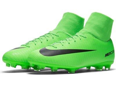 NIKE Kinder Fußballschuhe Mercurial Victory VI Dynamic Fit (FG) Grün
