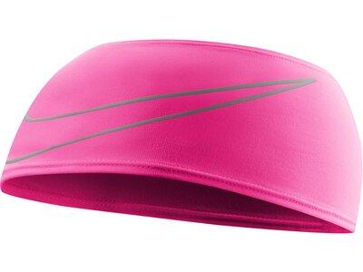 NIKE Herren 9038/121 Dri-Fit Swoosh Running Headband Pink