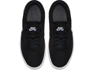 NIKE Kinder Freizeitschuhe Nike Sb Check Cnvs (gs) Schwarz