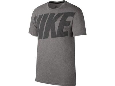 NIKE Herren T-Shirt DRY TOP SS HPR DRY NIKE Grau