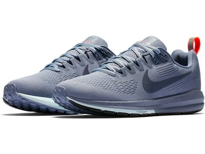NIKE Damen Laufschuhe W AIR ZOOM STRUCTURE 21 SHIELD Grau