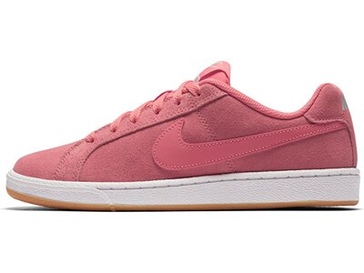 NIKE Damen Sneakers Court Royale Suede Braun