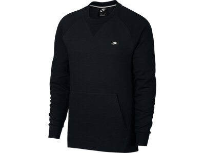 NIKE Herren Sweatshirt NSW OPTIC CRW Schwarz
