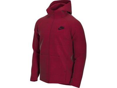 """NIKE Herren Fleecejacke """"Sportswear Tech Fleece"""" Rot"""