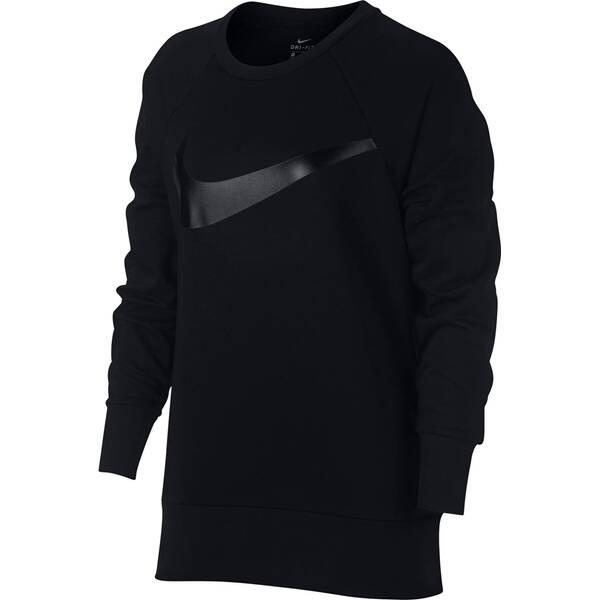 NIKE Damen Sweatshirt W NK DRY TOP CREW SWOOSH