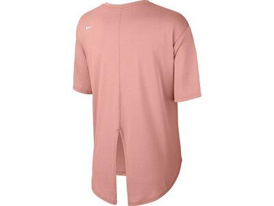 NIKE Damen Shirt DRY TOP Pink