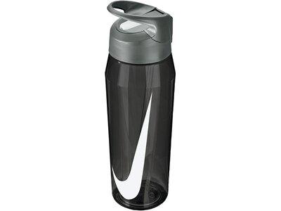 NIKE TR Hypercharge Straw Bottle Grau