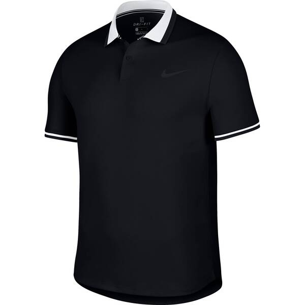 NIKE Herren Poloshirt Advantage Kurzarm